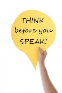 Freedom to speak does not mean that what you say will be wise, individually helpful or beneficial to society.
