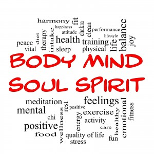 Do not neglect the physical and the spirtitual when you undertake to improve your mental health.