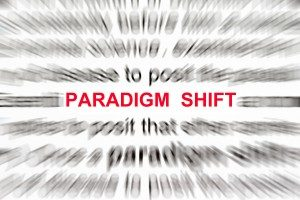 A paradigm shift is frequently needed to improve mental health.